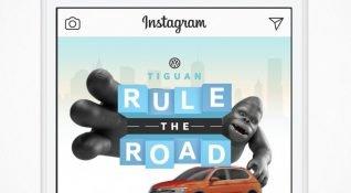 VW, yeni Tiguan'ı ABD'deki Instagram kullanıcılarına bir oyunla tanıtıyor