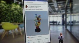 Facebook, Haber Kaynağı'nda paylaşılabilecek 3D içerikleri tanıttı