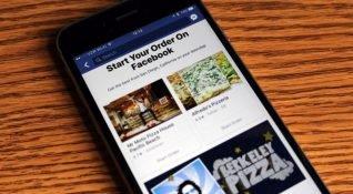 Facebook ABD'de yemek siparişi özelliğini yayına aldı