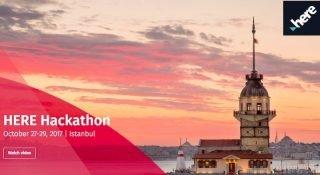 HERE'in ilk uluslararası kod maratonu Hackathon İstanbul'da kazanan Robert Koleji öğrencileri oldu