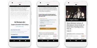 Instant Articles aboneliğini deneyen Facebook, Apple engeline takıldı