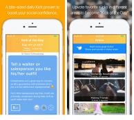 Özgüveninizi tazeleyen mobil uygulama: Kick