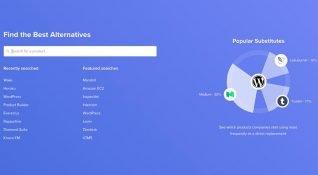 Product Alternatives kullandığınız yazılım ürününün en iyi alternatiflerini sıralıyor