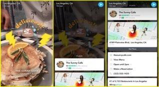 Snapchat, Context Cards'ı alışveriş aracına dönüştürüyor