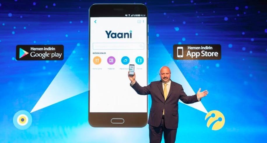 Turkcell, yerli mobil arama motoru Yaani'yi tanıttı!