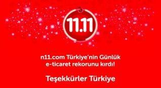 n11.com, 24 saat içinde 140 milyon TL'lik ürün satmayı başardı