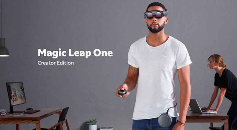 Magic Leap'ten artırılmış gerçeklik gözlüğü: Magic Leap One