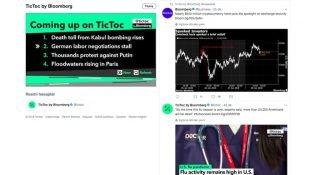 Bloomberg'in yayıncılık endüstrisine ilham veren kanalı TicToc, günlük 750 bin izleyici sayısına ulaştı