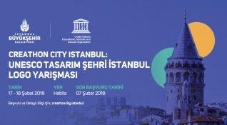 Creathon City İstanbul: UNESCO Tasarım Şehri İstanbul'un Logosunu Tasarla!