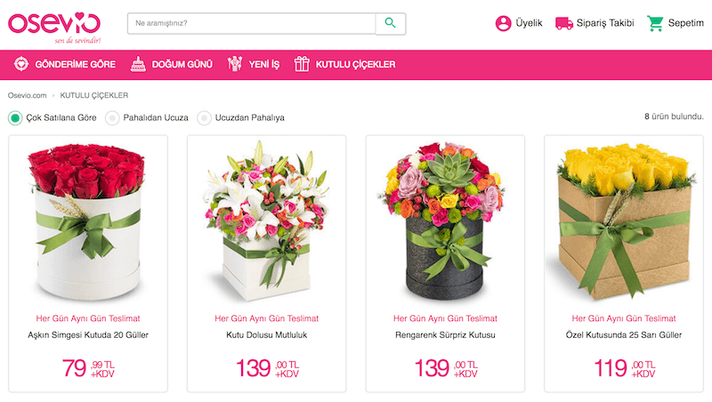 çiçek Sepetinin Eski Genel Müdüründen çiçek Siparişi Girişimi