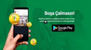 Arandıkça para kazandıran reklam uygulaması: RingPara