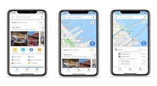 Google Maps'in hızlı erişim menüsü artık iOS cihazlarda kullanılabilecek