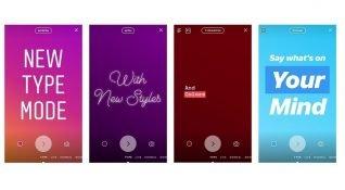 Instagram gün geçtikçe Facebook oluyor: Instagram Hikayeler'e yazı modu özelliği eklendi