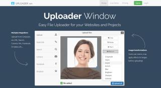 Uploader Window, web siteleri için dosya yükleme penceresi sunuyor