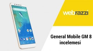 General Mobile GM 8 incelemesi
