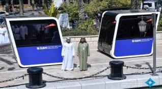 Dubai'nin otonom POD'ları, sosyal bir yolculuk deneyimi sunacak