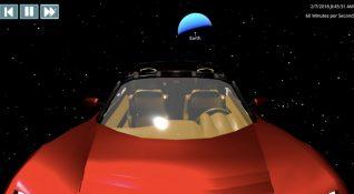 Falcon Heavy ile uzaya fırlatılan Tesla Roadster şu anda nerede?
