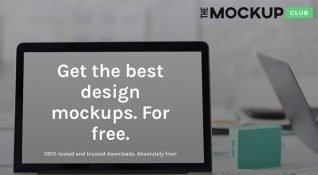 The Mockup Club: Yüksek kaliteli ve ücretsiz mockup bankası