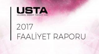2017 yılında Türkiye genelindeki siber tehdit verileri