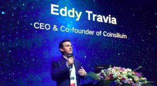 Eddy Travia, 28 Mart'ta Blockchain Venture Summit'te