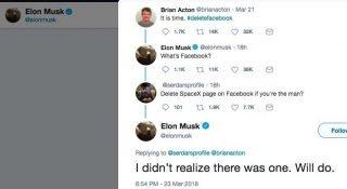 Elon Musk, Twitter'da Türk kullanıcının gazı ile Facebook hesaplarını sildi