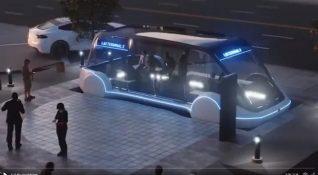 Elon Musk Hyperloop'un yaya odaklı güncel planını paylaştı