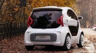 3D yazıcıyla yapılan elektrikli araç 10 bin dolardan satışa sunuluyor