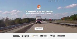 16,5 milyon dolar yatırım alan Starsky Robotics, otonom kamyon üreticilerine meydan okuyor