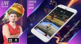 Canlı spor uygulaması HEED, EuroLeague maçlarının detaylı verilerini paylaşıyor