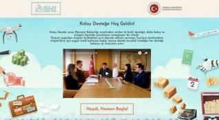 İhracat desteklerinin anlaşılması için devlet destekli yeni bir platform: Kolay Destek