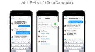 Messenger'daki grup konuşmalarına Yönetici Ayrıcalıkları geliyor