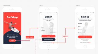 Tasarımcılar için kullanıcı akış diyagramı aracı: Overflow