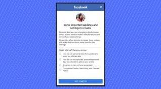 Facebook'un Avrupa Birliği Veri Koruma Yönergesi değişiklikleri