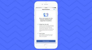 Facebook bireysel bağış kampanyası ücretleri düşüyor