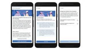 Facebook Avrupa'daki kullanıcılara yüz tanıma özelliğini açıyor.