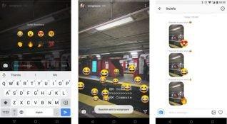 Instagram'ın test ettiği ifadeler, çekim modları ve diğer yeni özellikler