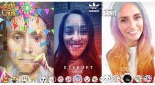 Snapchat, alışveriş reklamlarını artırılmış gerçeklik lenslerine yerleştiriyor