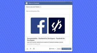 Facebook haber kaynağında özel paylaşım istemlerini ve diğer 12 API'yi kapatıyor