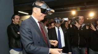 Lenovo ve Beşiktaş JK, Vodafone Park'taki gaming alanı Lenovo Game On'u açtı