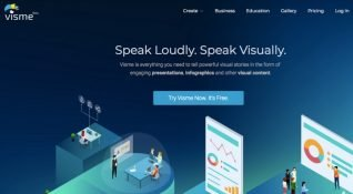 Projeleri özelleştiren, düzenleyen ve analiz eden platform: Visme