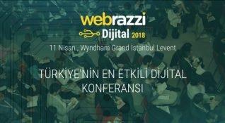 Webrazzi Dijital 2018 gün boyu canlı yayında!