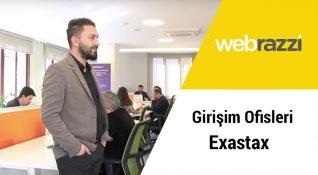 Girişim Ofisleri'nde bu hafta Exastax'i ziyaret ettik