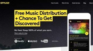 Ücretsiz müzik dağıtım hizmeti Amuse, 15,5 milyon dolarlık yatırım aldı
