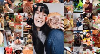 Burger King İspanya'dan dikkat çeken kampanya: Instagram üzerinden kişiselleştirilmiş burger