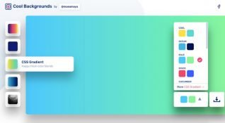 Kişiselleştirilmiş, basit arka plan tasarımları sunan platform: Cool Backgrounds