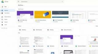 Google Drive'a son Gmail sürümüyle uyumlu yeni tasarım geldi