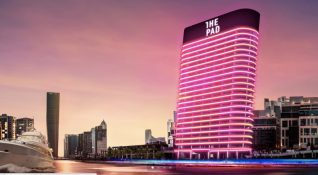Dubai'de dev iPad'e benzeyen teknolojik bir bina inşa ediliyor