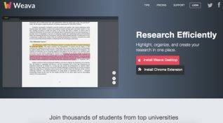 Sekmelerinizi renklendiren not alma ve düzenleme platformu: Weava