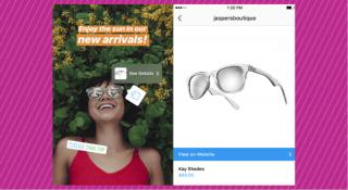 Instagram, Hikayeler özelliğine alışveriş etiketleri getiriyor