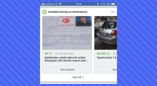 Facebook Marketplace içerikleri Haber Kaynağı'nda görünmeye başladı